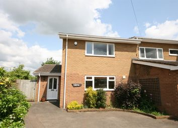 Thumbnail 3 bed semi-detached house for sale in Preston Deanery Road, Quinton, Northampton