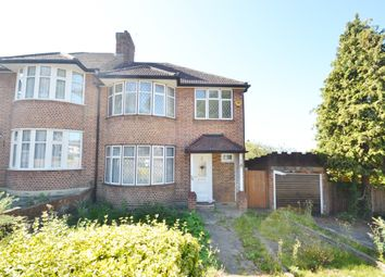 Thumbnail 3 bed semi-detached house to rent in Oak Way, Southgate