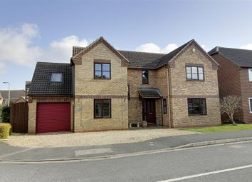 Thumbnail 4 bed detached house for sale in Barleyfield, Langtoft, Peterborough