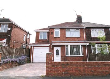 Thumbnail 4 bed semi-detached house for sale in Kensington Drive, Salford