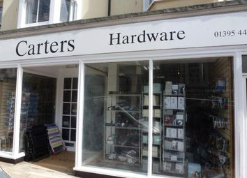Thumbnail Retail premises for sale in Budleigh Salterton, Devon