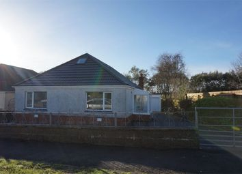 Thumbnail 4 bed detached bungalow for sale in Belvedere Close, Kittle, Swansea