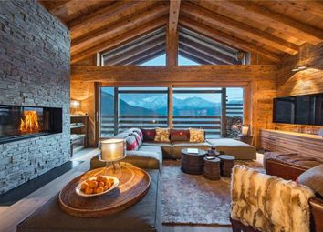 Thumbnail 4 bed chalet for sale in Chalet Alpin Roc, Verbier, Valais, Switzerland