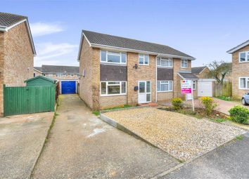 Thumbnail 3 bed semi-detached house for sale in Linford Avenue, Newport Pagnell