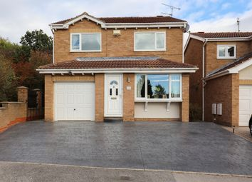 Thumbnail 4 bed detached house for sale in Stoneacre Avenue, Sheffield