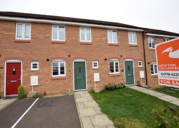 Thumbnail 2 bed terraced house for sale in Newbury Crescent, Bourne
