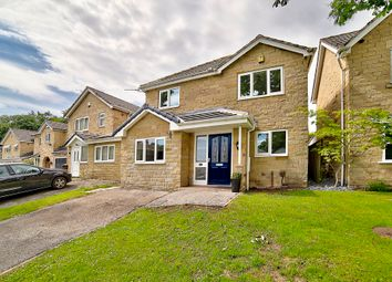Thumbnail 3 bed detached house for sale in Harwood Close, Huddersfield