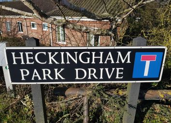 Thumbnail 1 bed flat to rent in Heckingham Park Drive, Hales, Norwich