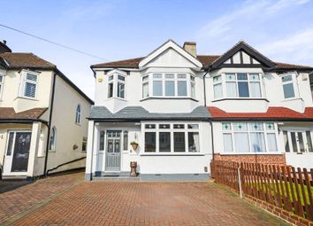 Thumbnail 3 bed semi-detached house for sale in Stonecot Close, North Cheam, Sutton