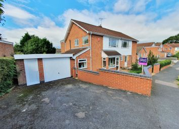 Thumbnail 3 bed semi-detached house for sale in Saintbury Road, Leicester