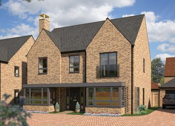 "Thumbnail 5 bed detached house for sale in ""The Lime"" at Station Road, Longstanton, Cambridge"