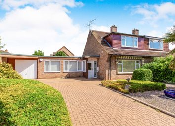 Thumbnail Bungalow for sale in Orchard Close, Eaton Ford, St. Neots