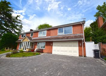 Thumbnail 5 bed detached house for sale in Lakeside Court, Leicester, Leicestershire