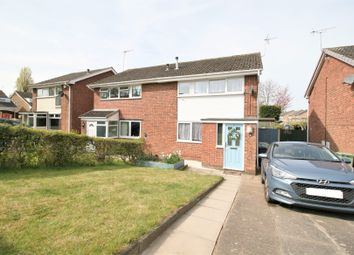 Thumbnail 3 bed semi-detached house for sale in Norfolk Avenue, Grassmoor, Chesterfield