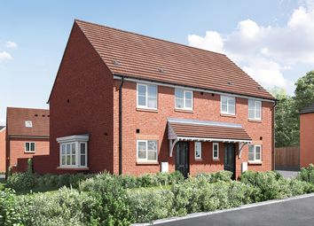 "Thumbnail 3 bed semi-detached house for sale in ""The Eveleigh"" at Wood Lane, Binfield, Bracknell"