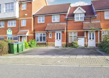 Thumbnail 3 bed terraced house for sale in Greenhaven Drive, Central Thamesmead, London