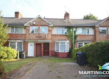 Thumbnail 4 bed terraced house to rent in Quinton Road, Harborne