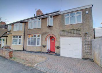 Thumbnail 5 bed semi-detached house for sale in Lynton Avenue, Kingsthorpe, Northampton