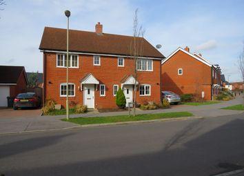 Thumbnail 3 bedroom property to rent in Cutforth Way, Romsey