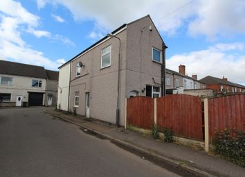 Thumbnail 2 bed end terrace house to rent in Middle Street, Hillstown, Bolsover