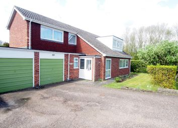 Thumbnail 4 bed detached house for sale in Estelle Way, Wymondham