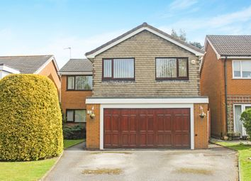 Thumbnail 5 bed detached house for sale in Monwood Grove, Solihull