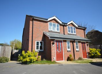 Thumbnail 2 bed semi-detached house to rent in Pound Road, Pennington, Lymington