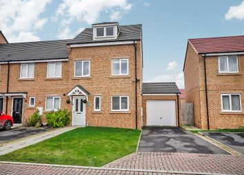 Thumbnail 3 bed semi-detached house for sale in Bradford Drive, Bishop Auckland