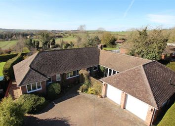 Thumbnail 4 bed detached bungalow for sale in Downs Road, Compton