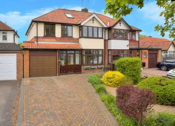 Thumbnail 4 bedroom semi-detached house for sale in Stanley Avenue, Chiswell Green, St.Albans