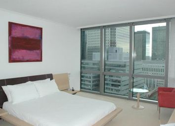 Thumbnail 2 bed flat to rent in One West India Quay, Hertsmere Road