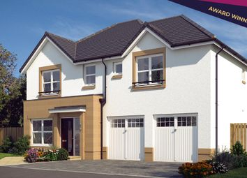 """Thumbnail 4 bed detached house for sale in """"The Westbury"""" at Edinburgh Road, Newhouse, Motherwell"""