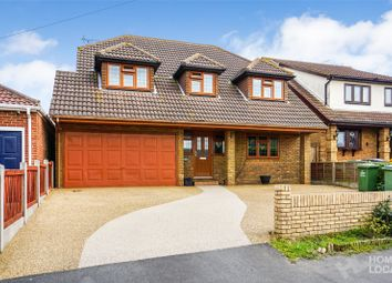 Thumbnail 4 bed detached house for sale in Highlands Road, Bowers Gifford, Basildon, Essex