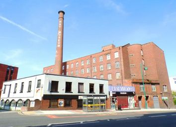 Thumbnail 2 bed flat for sale in Wellington Mill, Wellington Road South, Stockport, Cheshire