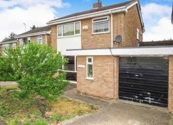 Thumbnail 3 bed detached house for sale in Colebrook Close, Evington, Leicester