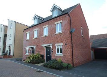 Thumbnail 3 bed semi-detached house for sale in Ryeland Croft, Oakridge Park, Milton Keynes