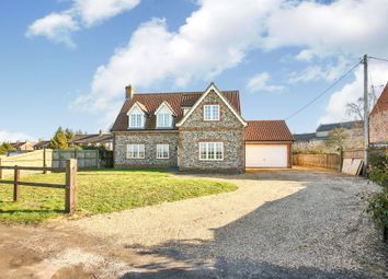 Thumbnail 4 bed detached house for sale in School Road, Foulden, Thetford