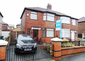 Thumbnail 3 bed semi-detached house for sale in Newhaven Avenue, Delamere Park, Manchester