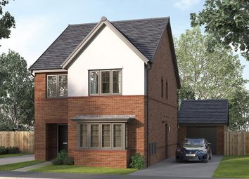 "Thumbnail 4 bed detached house for sale in ""The Finsbury"" at George Holmes Business Park, George Holmes Way, Swadlincote"
