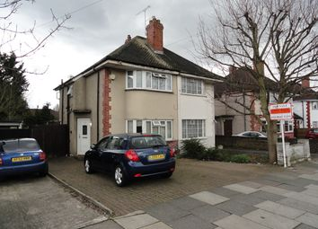 Thumbnail 2 bed semi-detached house for sale in Wood End Lane, Northolt