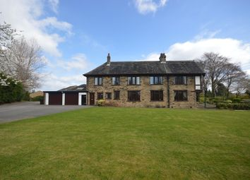 Thumbnail 5 bed country house for sale in Parker Lane, Mirfield
