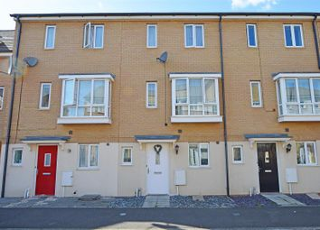 Thumbnail 3 bed town house for sale in Harn Road, Hampton Centre, Peterborough