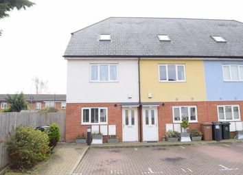 Thumbnail 4 bedroom end terrace house for sale in Keppel Close, Greenhithe High Street, Greenhithe, Kent