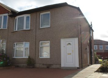 Thumbnail 3 bedroom flat for sale in Kingsacre Road, Glasgow