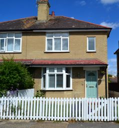 Thumbnail 2 bed semi-detached house for sale in Manor Road, Whitstable