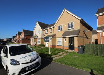 Thumbnail 3 bed semi-detached house to rent in Caesar Way, Wallsend