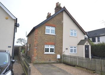Thumbnail 2 bed semi-detached house for sale in Leatherhead Road, Malden Rushett, Surrey.