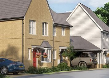 "Thumbnail 3 bedroom property for sale in ""The Leigh"" at Yarrow Walk, Red Lodge, Bury St. Edmunds"