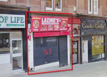 Thumbnail Commercial property for sale in 163, Main Street, Wishaw ML27Ay