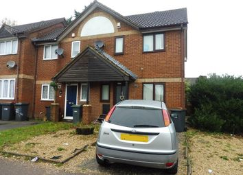 Thumbnail 2 bed property to rent in Milliners Way, Luton